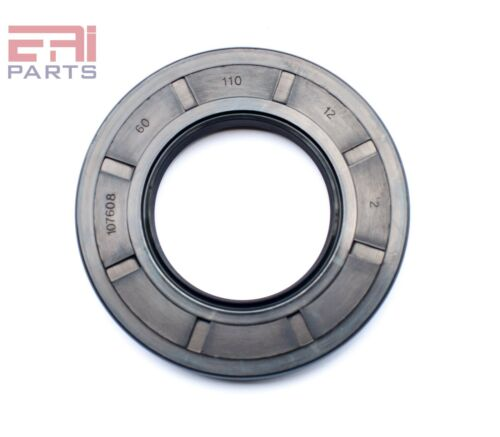 EAI Oil Seal TC 60X110X12 Rubber Double Lip w// Spring 60mmX110mmX12mm