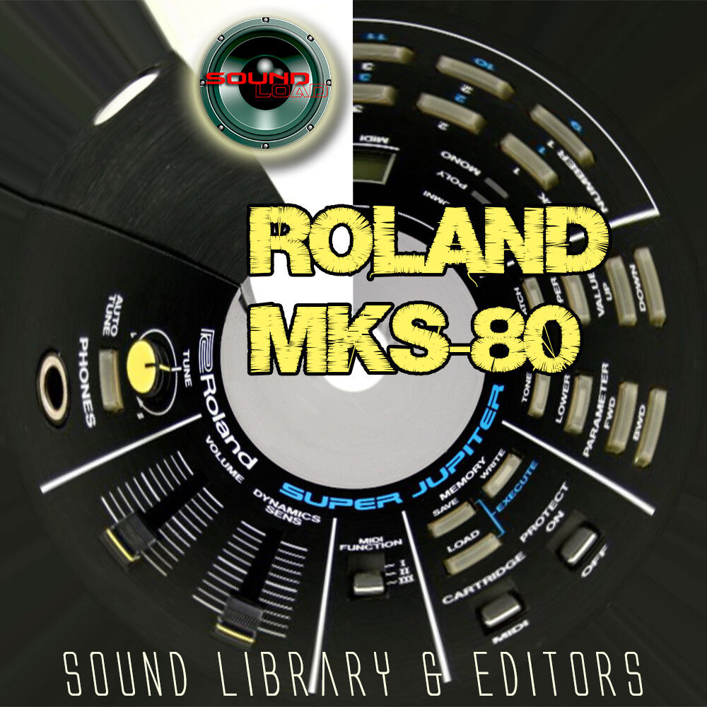 for ROLAND MKS-80 Original Factory and NEW Created Soun