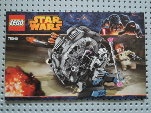 LEGO Bauanleitung Instruction Star Wars 75040