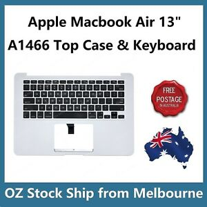 Apple-MacBook-Air-13-034-A1466-2013-2014-2015-2016-Palmrest-Top-Case-Keyboard-US