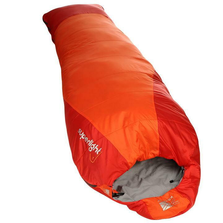 Karrimor Superlight 1 Sleeping Bag orange H215cm x W78cm