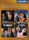 TCM Greatest Classic Legends Film Collection: Taylor  Burton (DVD, 2014, 4-Disc Set)