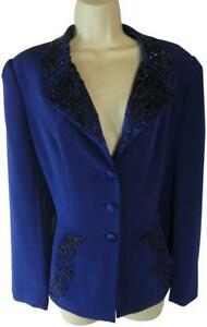 Black-Tie-Oleg-Cassini-10-jacket-top-blazer-beaded-formal-designer