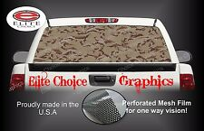 Desert Camo Rear Window Graphic Decal Sticker Truck Van Car SUV