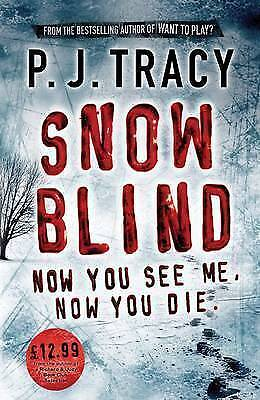 """AS NEW"" Tracy, P. J., Snow Blind: Monkeewrench Book 4 Book"