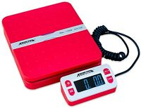 Accuteck ShipPro W-8580 110lbs x 0.1 oz Digital shipping postal scale Red