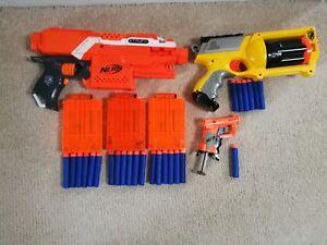 Nerf-Gun-Bundle-3-guns-25-bullets-amp-1-extra-magazines