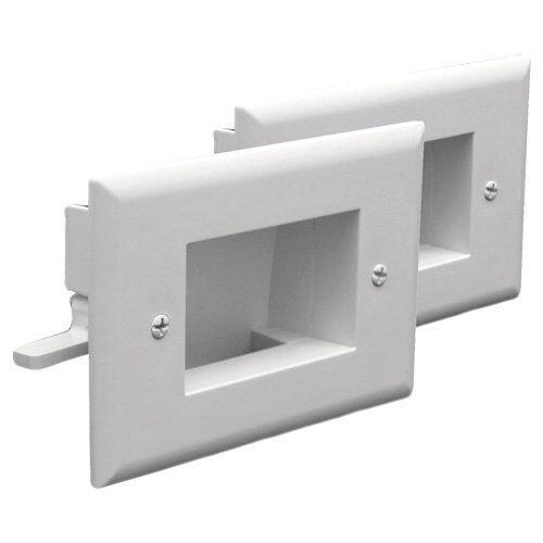 50-3338-WH-KIT DataComm Easy Mount Cable Organizer Kit