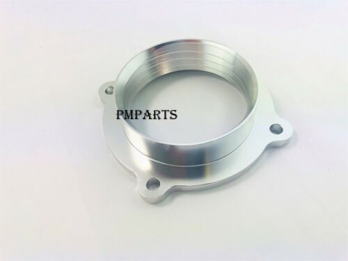 Silver Throttle Body Spacer fit 11-14 Jeep Grand Cherokee & 12-14 ...