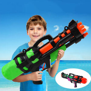 "23"" Large Water Gun Pump Action Super Soaker Sprayer Outdoor Beach Garden Toy"