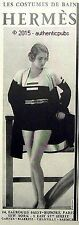 PUBLICITE HERMES LES COSTUMES DE BAIN ART DECO DE 1931 FRENCH AD ADVERT PRINT