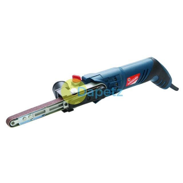Silverstorm 260W Power File Belt Sander Electric Sanding Tool 13mm Heavy Duty