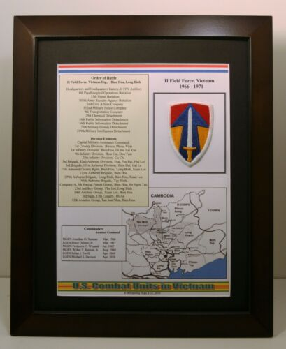 II Field Force Insignia and History in Vietnam