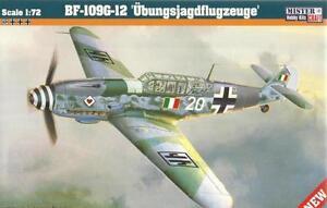 Messerschmitt-Bf-109-G-12-italien-amp-LUFTWAFFE-MKGS-1-72-MISTERCRAFT-Limited-Ed