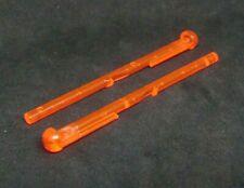 Darts For Spring Shooter Trans Orange X 5 FREEPOST Lego Arrows
