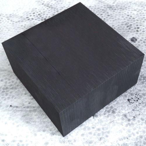 10x10x1cm 99.9/% Pure Graphite Block Electrode Rectangle Plate Blank Sheet Black