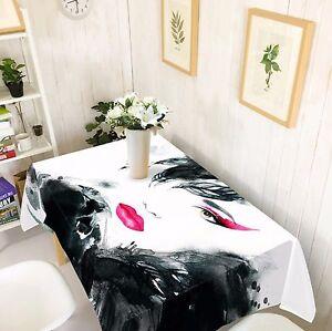 3D-Woman-Tablecloth-Table-Cover-Cloth-Birthday-Party-AJ-WALLPAPER-UK-Lemon