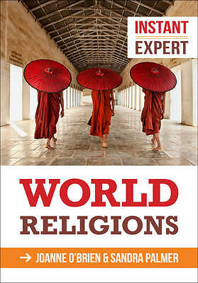 1 of 1 - Good, Instant Expert: World Religions, O'brien, Joanne, Book
