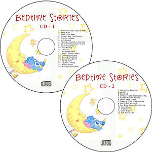 Children-Classic-Bedtime-Songs-Lullabies-2-CDs-Sleeptime-Babies-Kids-Soothing