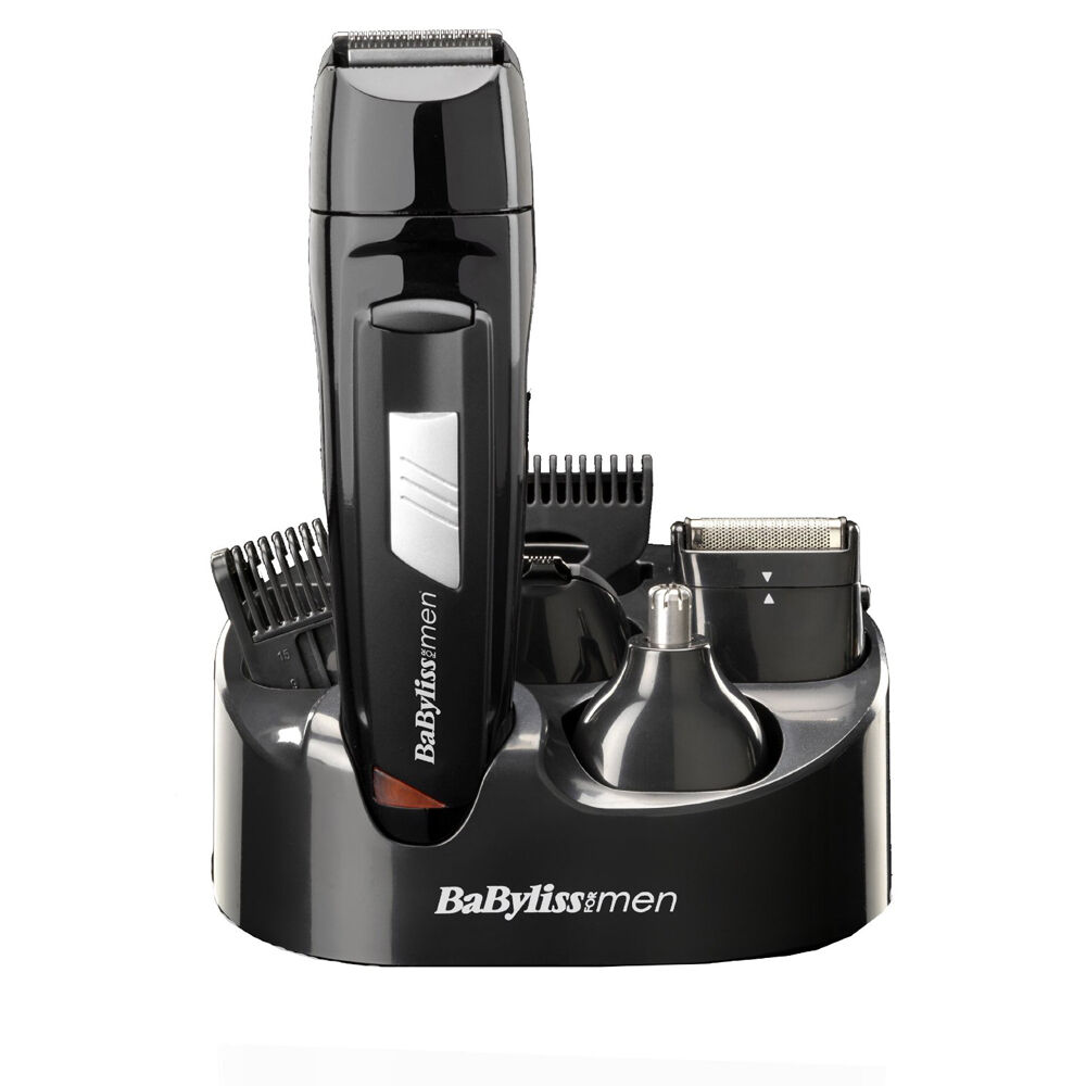 cordless hair cutter professional beard clipper men trimmer rechargeable battery ebay. Black Bedroom Furniture Sets. Home Design Ideas