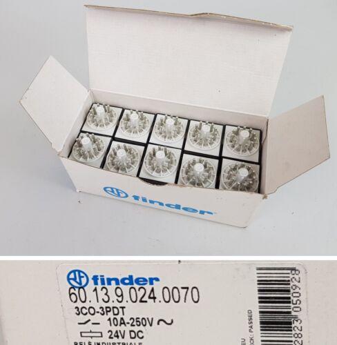 Pp5932 10 unidades relés Finder 60.13.9.024.0070 24v dc OVP