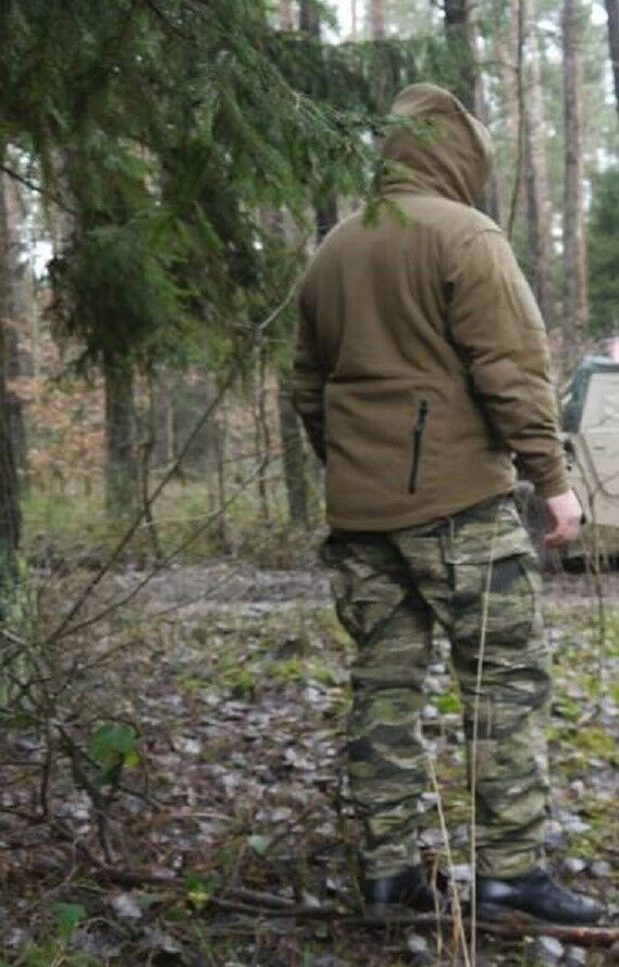 HELIKON tex patriota patriota patriota heavy Fleece outdoor ocio capucha chaqueta coyote tan XXXL 5402ea