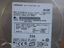 640 GB Hitachi HDE721064SLA330 | 0A39991 | MLC: BA3064 | JAN-2009 | PCB OK  #214
