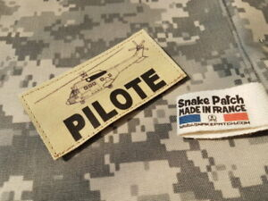 Details about Snake Patch - Pilote Puma Sable (Sand) / Desert Flight Alat Daos Rhfs Limited