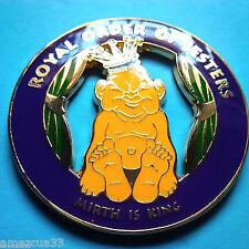 Royal Order Of jesters alloy zinc Cut out Car Emblem