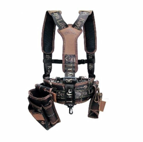 KAYA LIFE KL-600 Work Tool Belt Suspenders Drill Pouch Holder