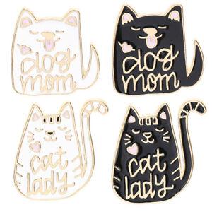 Dog-Mom-Mum-Fur-Baby-Pin-Badge-Brooch-Dog-Lover-Gift-Mothers-Day-Birthday-Lapel