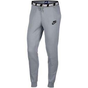 Nike-Sportswear-AV15-Womens-Active-Bottoms-Grey-Size-L-Fleece-Casual-Pants