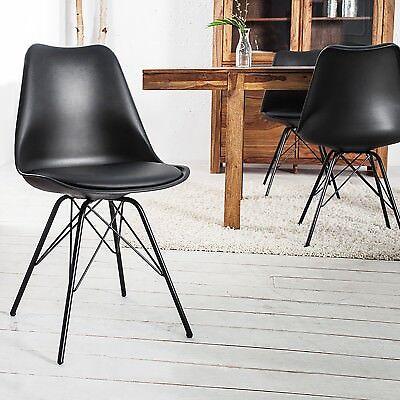 Cagü : Rétro Design Chaise Noir Dans Scandinave Style Neuf Göteborg