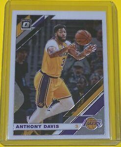 2019-20 Panini Donruss Optic Anthony Davis Los Angeles Lakers #90 CHAMP 🔥
