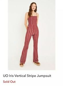 Urban Outfitters Striped Jumpsuit Ebay