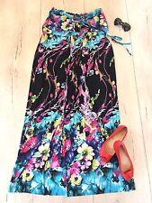 El tuyo Uk20 Vestido Maxi Largo Vacaciones Verano Fiesta Playa Tramo Floral £ 55
