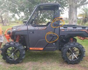 Polaris Ranger Xp 1000 Highlifter Door Hinge Covers Ebay