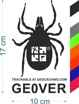 schwarz Glow in The Dark geo-versand Geocaching QR Travel Bug/®