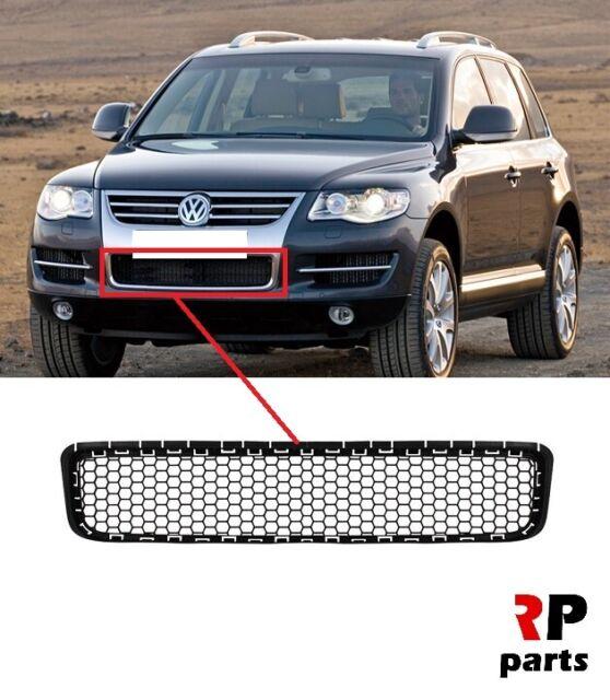 Neuf VW Touareg 2007-2010 Pare Choc avant Bas Grille Du Centre Bordure
