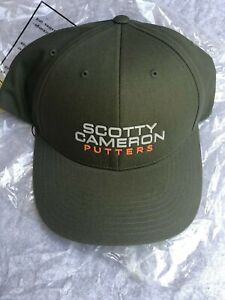Details about SCOTTY CAMERON 2019 MASTERS - COTTON TWILL - GREEN HAT  Snapback