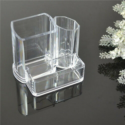 Hot Makeup Cosmetic Stationery Desk Decor Organizer Clear Acrylic Storage Box