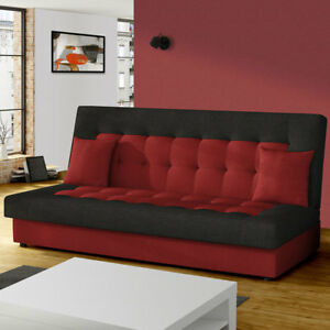 schlafsofa neo sofagarnitur sofa couch liegesofa gro e farbauswahl bettkasten ebay. Black Bedroom Furniture Sets. Home Design Ideas
