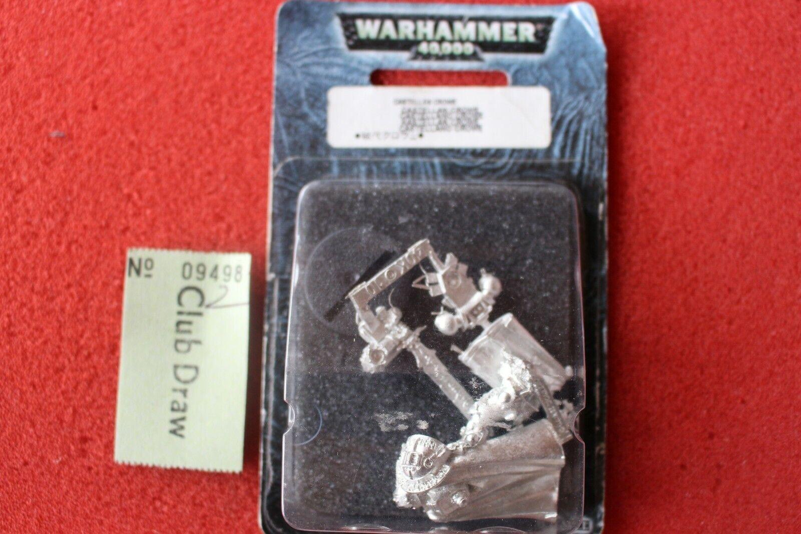 Games Workshop Warhammer 40k gris Knights Milady Crowe Entièrement neuf dans sa boîte Figure METAL NEW