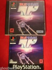 TRUE PINBALL PLAYSTATION 1 TRUE PINBALL PS1 PS2 PS3