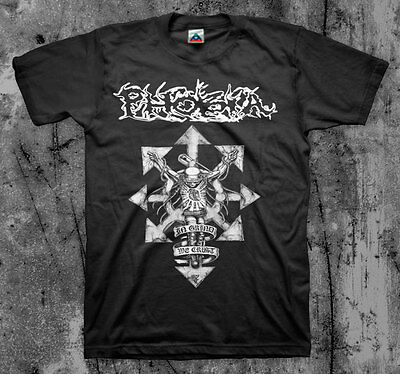 PHOBIA 'In Grind We Crust' T shirt (Wormrot Napalm Insect Warfare Magrudergrind)