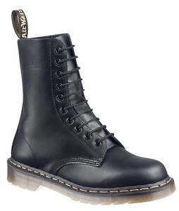 Black Smooth Agujero Martens Dr 11857001 10 1490 Original El qZwUH4XS