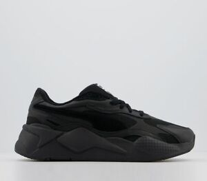 Mens Puma Rs-X3 Luxe Trainers Black