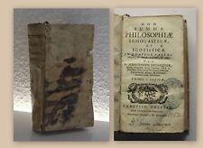 Dupasquier Summa Philosophiae Scholasticae Scotisticae 1759 Philosophie rara xy