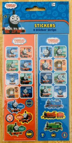 Thomas And Friends Stickers  NEW SEALED 8 Strips Free Ship Sale