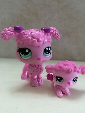 Littlest Pet Shop Mommy Poodle Baby Pink Dog #3599 #3600 Puppy SHIPS FREE 9 pics